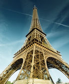 Torre eiffel, parigi, francia — Foto Stock