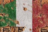 Grunge Flag Of Italy. — Stock Photo