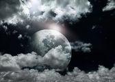 Pleine lune. — Photo
