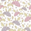 Spring lilac flowers seamless pattern — Stock Vector