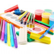 Set for drawing and sculpting — Stock Photo