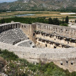 Old theater Aspendos - Stock Photo