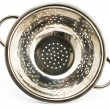 Chrome strainer — Stock Photo
