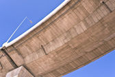 Overpass over blue sky — Stock Photo