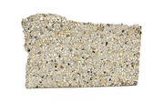 Piece of broken granite stone — Stock Photo