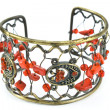 Bracelet with gems - Stockfoto