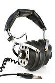 Pair of old sound headphones — Stock Photo