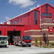 ストック写真: Winters, CaliforniPublic Safety Fire Station and Police Depart