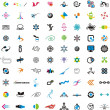 Collection of detailed vector icons and design elements — Stock Vector #11418025
