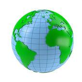 Stylized globe — Stockfoto