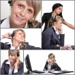 Office Collage — Stock Photo #10852889