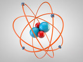 Atom Model — Stock Photo