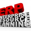 ERP Enterprise Resource Planning — Stock Photo
