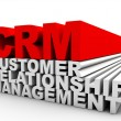 CRM Customer Relationship Management — Stock Photo #11617302