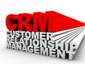 CRM Customer Relationship Management — Stock Photo