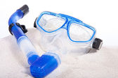 Scuba mask — Stock Photo