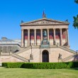 Alte Nationalgalerie at Museumsinsel in Berlin - 图库照片