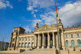 Reichstag building in Berlin, Germany — Stock Photo