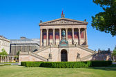 Alte Nationalgalerie at Museumsinsel in Berlin — Stock Photo