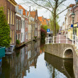 Old town, Delft, Holland — Stock Photo #11223300