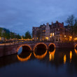 Canals of Amsterdam, Netherlands — Stock Photo #11236470