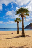 Beach las Teresitas, Tenerife, Spain — Stock Photo