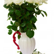 Stock Photo: Bunch of white roses