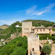 Stock Photo: Fortress of alhambra