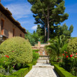 Gardens of Alhambra, Granada, Spain — Stock Photo