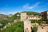 Fortezza dell'alhambra — Foto Stock