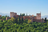 Fortress of Alhambra, Spain — Stockfoto