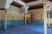 Interior of the Alhambra Castle, Granada, Spain — Stock Photo