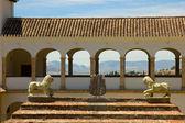 Generalife in Alhambra complex, Granada, Spain — Stock Photo