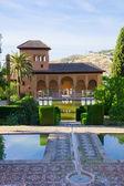 アンダルシア、グラナダのアルハンブラ宮殿 — ストック写真