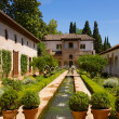 Royalty-Free Stock Photo: Generalife palace cortyard, Granada, Spain