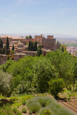Fortress of Alhambra, Granada, Spain — Stock Photo