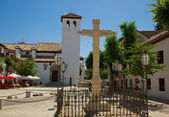 Church of Santa Isabel La Real, Granada — 图库照片