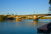 Triana Bridge, Seville, Spain — Stock Photo