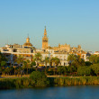 Cityscape of Seville, Spain - Stock Photo