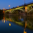 Stock Photo: TrianBridge, Seville, Spain