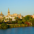 Cityscape of Sevilla, Spain — Stock Photo