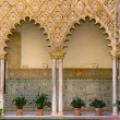 Real Alcazar (royal palace), Sevilla, Spain — Stock Photo #11809949