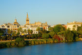 Cityscape of Sevilla, Spain — Stockfoto