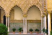 Real Alcazar (royal palace), Sevilla, Spain — Stock Photo