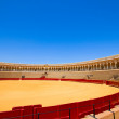 Bullfight arena  in Seville, Spain — Stock Photo