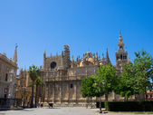 Cathedral church of Seville, Spain — Foto Stock