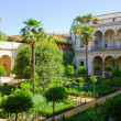 Garden of Casa de Pilatos, Seville, Spain — Stockfoto