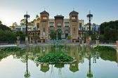 Mudejar pavilion, Seville, Andalucia, Spain — Stock Photo