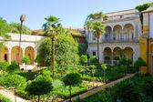 Garden of Casa de Pilatos, Seville, Spain — Stock Photo