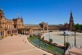 View of Plaza de España, Sevilla, Spain — Stock Photo